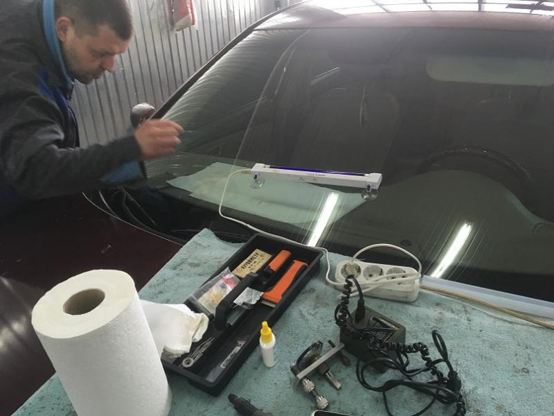 Как сделать ремонт стекла 96
